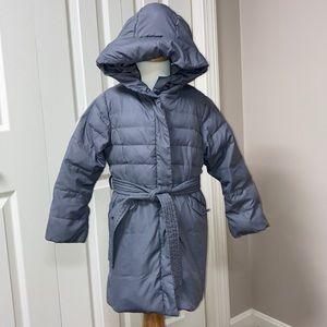 Jacadi down jacket grey size 5